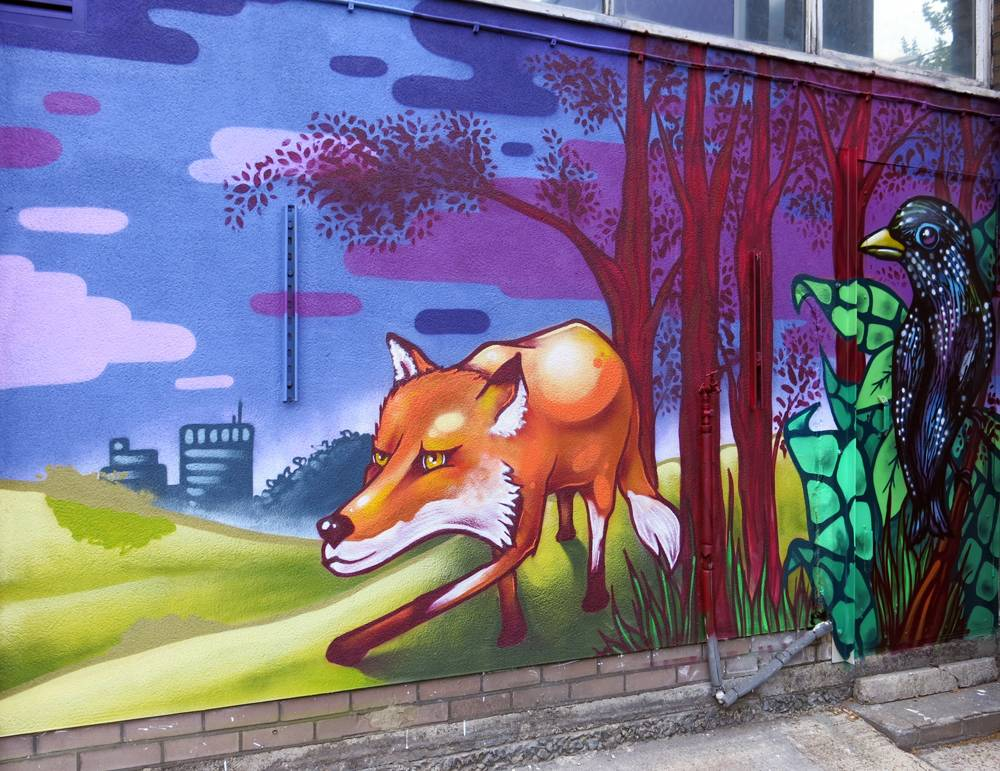 UVH Blog - GOOD GRAFITTI VERSUS BAD – WHAT IT MEANS FOR YOUR AREA